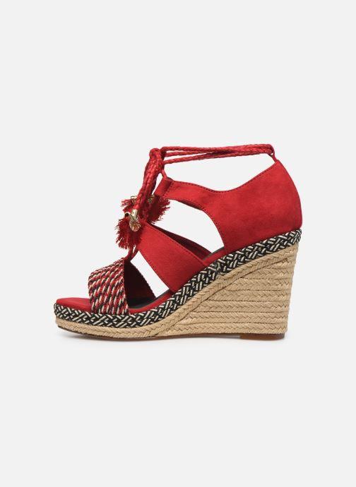 Sandales et nu-pieds Tamaris ACACIE Rouge vue face