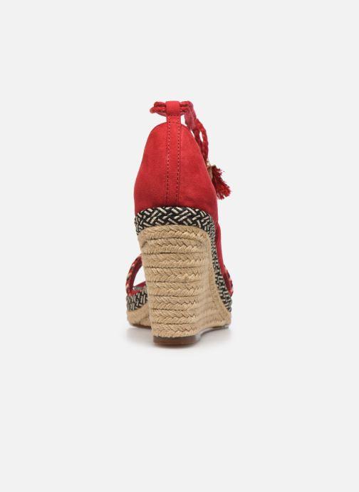Sandales et nu-pieds Tamaris ACACIE Rouge vue droite