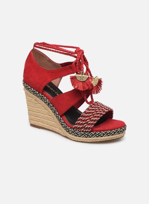 Sandales et nu-pieds Tamaris ACACIE Rouge vue détail/paire