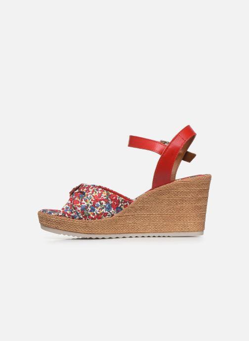 Sandales et nu-pieds Tamaris GIGI Rouge vue face