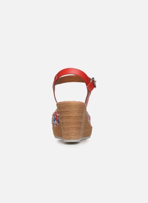 Sandales et nu-pieds Tamaris GIGI Rouge vue droite