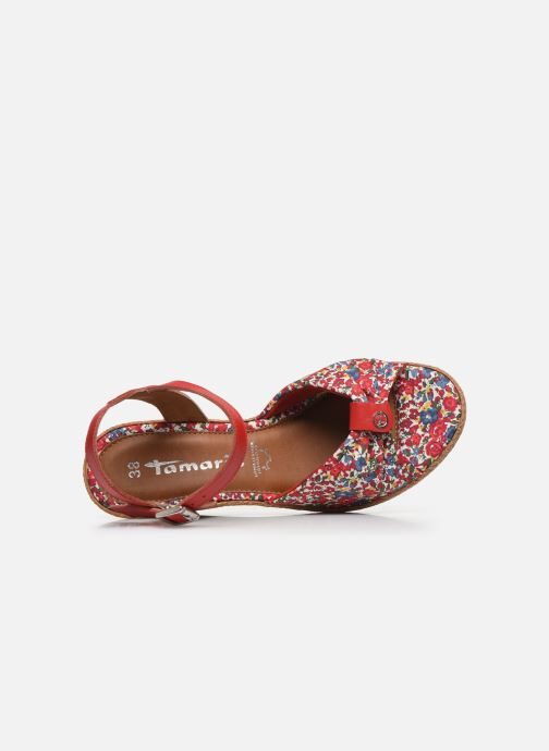 Sandales et nu-pieds Tamaris GIGI Rouge vue gauche