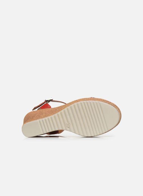 Sandales et nu-pieds Tamaris GIGI Rouge vue haut