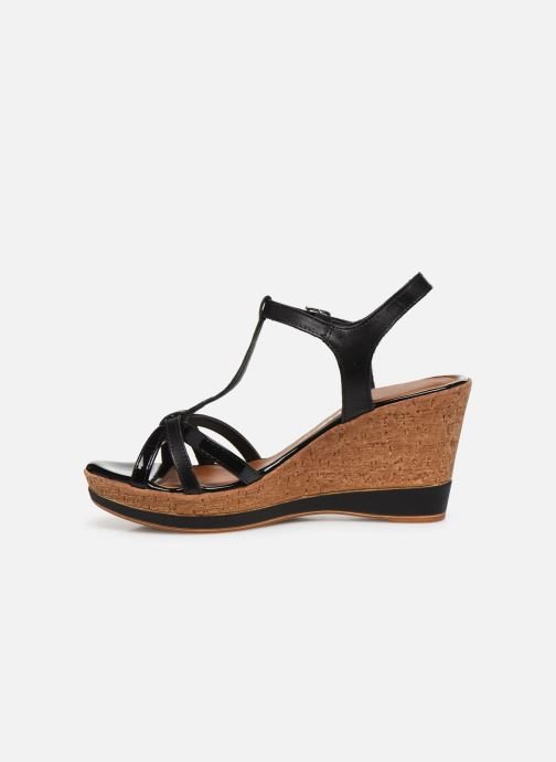 Sandales et nu-pieds Tamaris GLYN Noir vue face