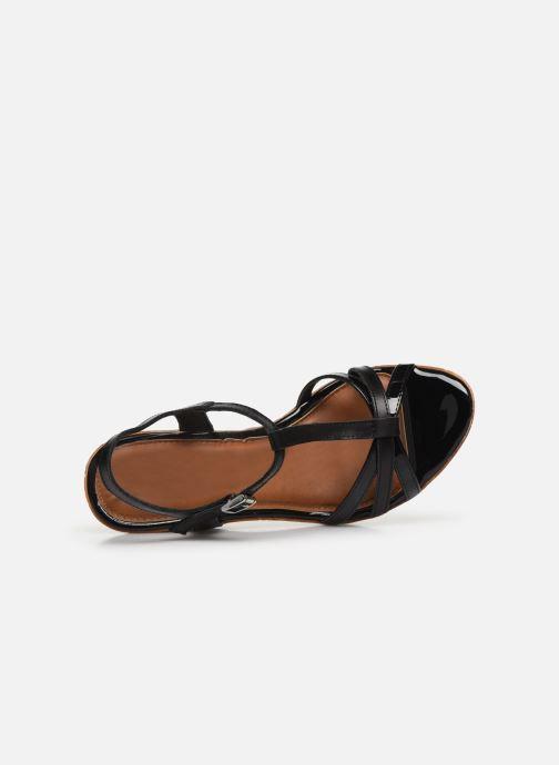 Sandales et nu-pieds Tamaris GLYN Noir vue gauche