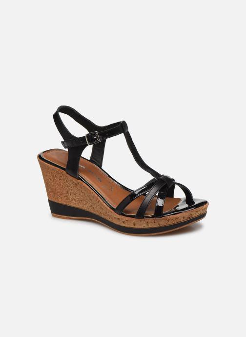 Sandales et nu-pieds Tamaris GLYN Noir vue détail/paire