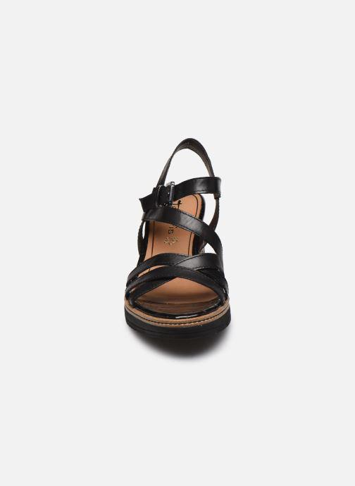 Sandales et nu-pieds Tamaris HAVEL Noir vue portées chaussures