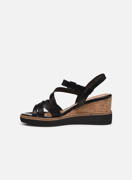 Sandales et nu-pieds Tamaris HAVEL Noir vue face
