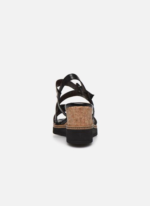 Sandales et nu-pieds Tamaris HAVEL Noir vue droite