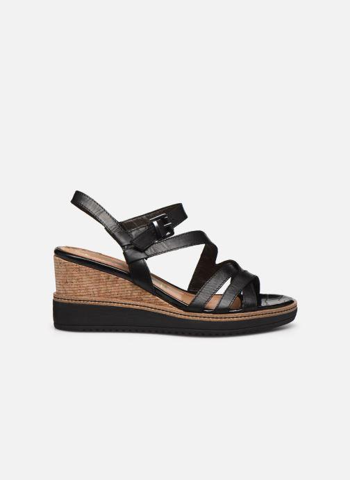 Sandales et nu-pieds Tamaris HAVEL Noir vue derrière