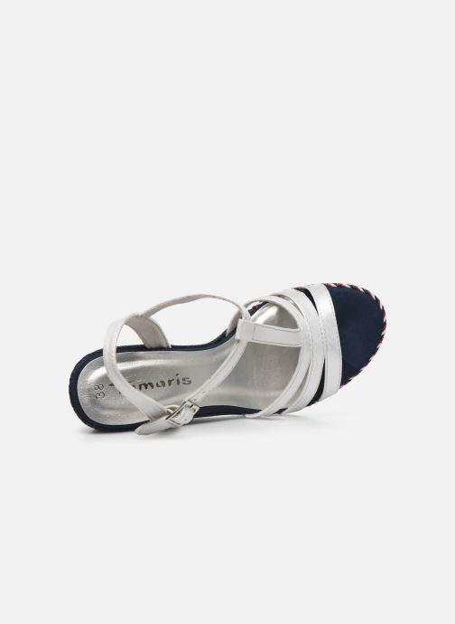 Sandales et nu-pieds Tamaris LENNY Argent vue gauche