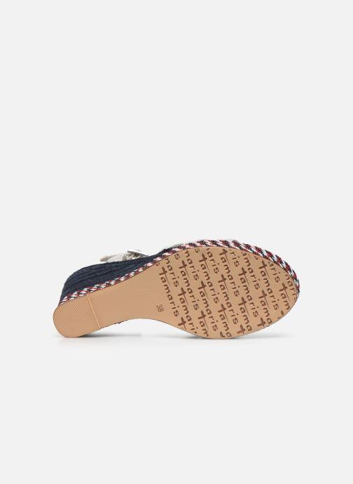 Sandales et nu-pieds Tamaris LENNY Argent vue haut