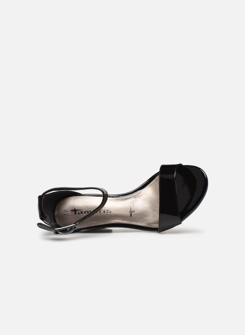 Sandali e scarpe aperte Tamaris LEVIA Nero immagine sinistra