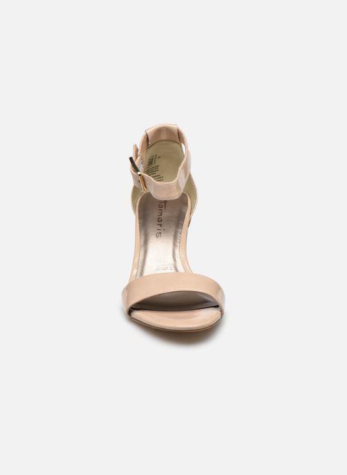 Sandali e scarpe aperte Tamaris LEVIA Beige modello indossato