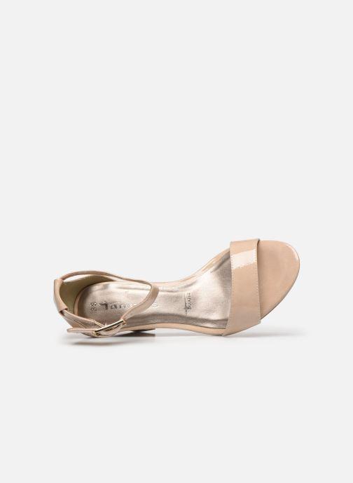 Sandales et nu-pieds Tamaris LEVIA Beige vue gauche