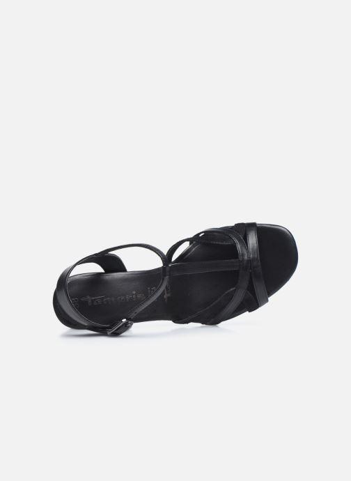 Sandali e scarpe aperte Tamaris TIARA Nero immagine sinistra