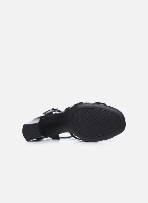 Sandali e scarpe aperte Tamaris TIARA Nero immagine dall'alto