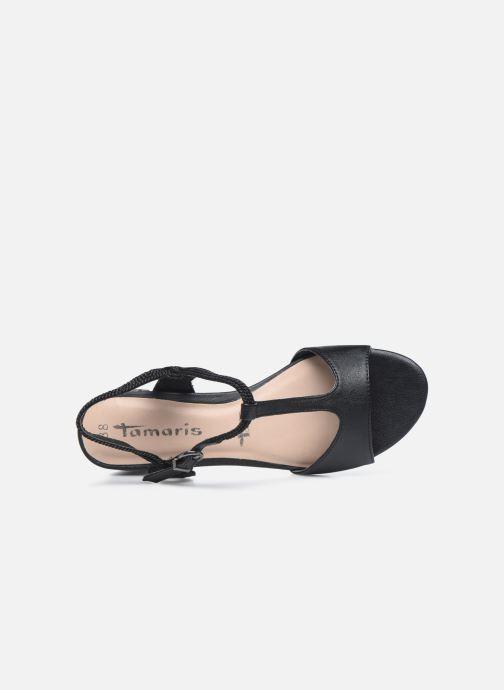 Sandali e scarpe aperte Tamaris TOPAZ Nero immagine sinistra
