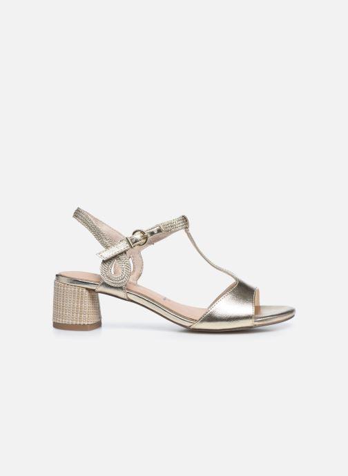 Sandales et nu-pieds Tamaris TOPAZ Or et bronze vue derrière