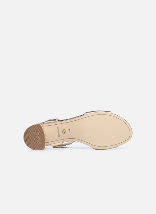 Sandales et nu-pieds Tamaris TOPAZ Or et bronze vue haut