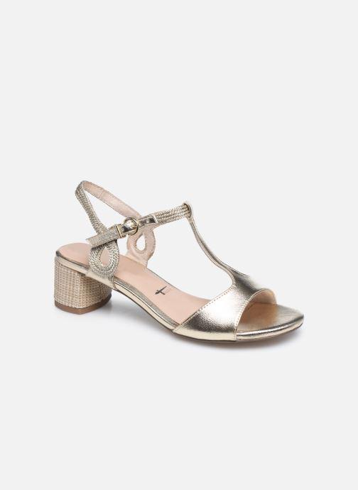 Sandales et nu-pieds Tamaris TOPAZ Or et bronze vue détail/paire