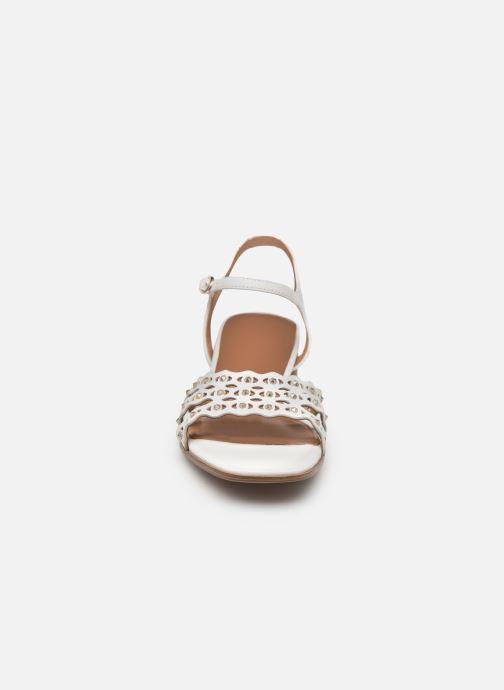 Sandales et nu-pieds Tamaris TYRA Blanc vue portées chaussures