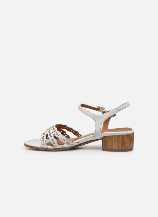 Sandales et nu-pieds Tamaris TYRA Blanc vue face