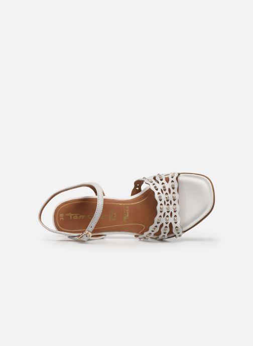 Sandales et nu-pieds Tamaris TYRA Blanc vue gauche