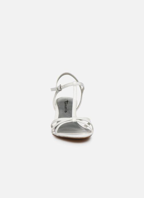 Sandales et nu-pieds Tamaris YURI Blanc vue portées chaussures