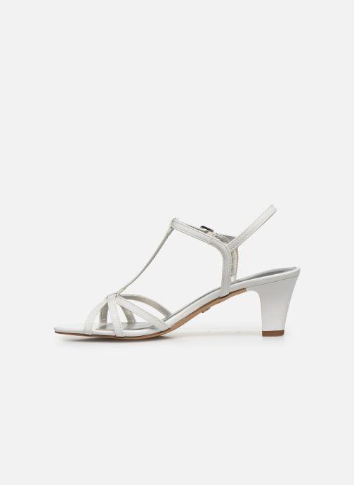 Sandales et nu-pieds Tamaris YURI Blanc vue face