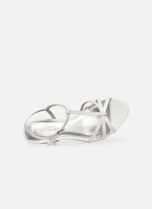 Sandales et nu-pieds Tamaris YURI Blanc vue gauche
