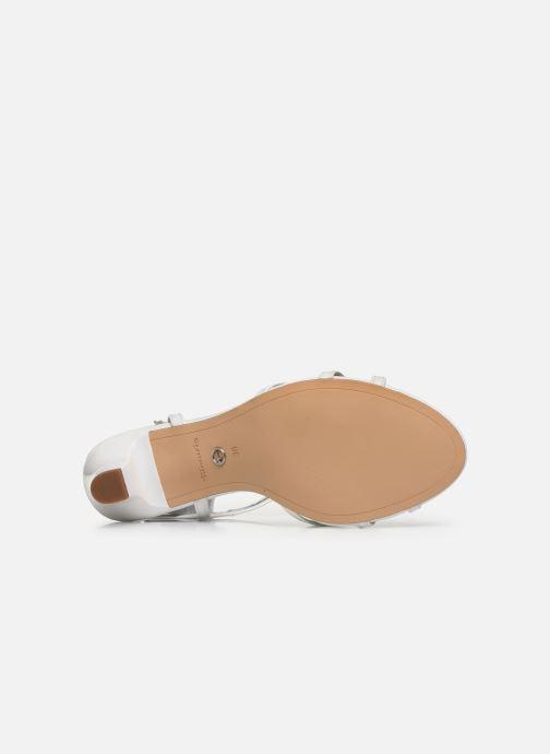 Sandales et nu-pieds Tamaris YURI Blanc vue haut