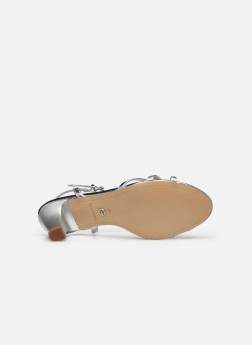 Sandales et nu-pieds Tamaris YURI Argent vue haut