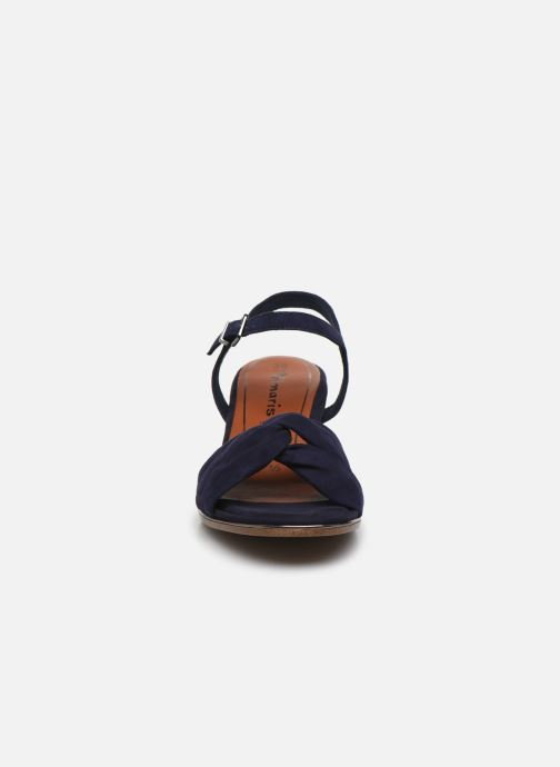 Sandales et nu-pieds Tamaris ZEKI Bleu vue portées chaussures