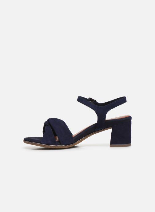 Sandales et nu-pieds Tamaris ZEKI Bleu vue face