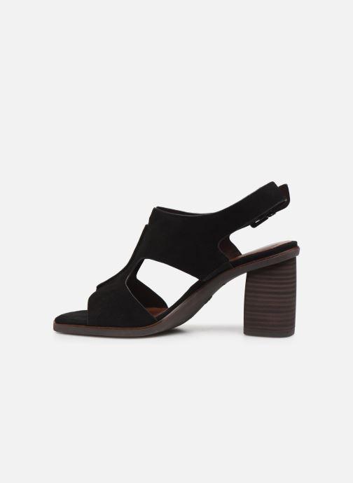 Sandales et nu-pieds Tamaris ZETA Noir vue face