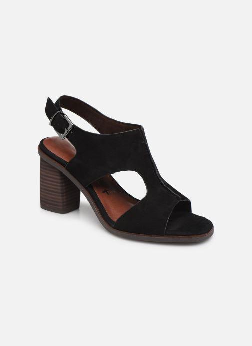 Sandales et nu-pieds Tamaris ZETA Noir vue détail/paire