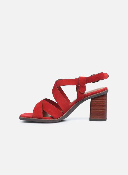 Sandales et nu-pieds Tamaris ZINA Rouge vue face