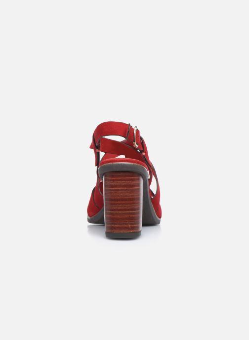 Sandales et nu-pieds Tamaris ZINA Rouge vue droite
