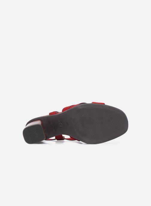 Sandales et nu-pieds Tamaris ZINA Rouge vue haut
