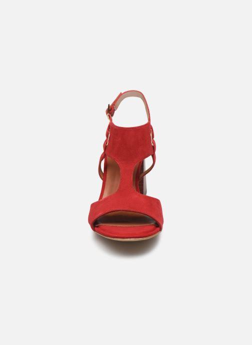 Sandales et nu-pieds Tamaris ZAZA Rouge vue portées chaussures