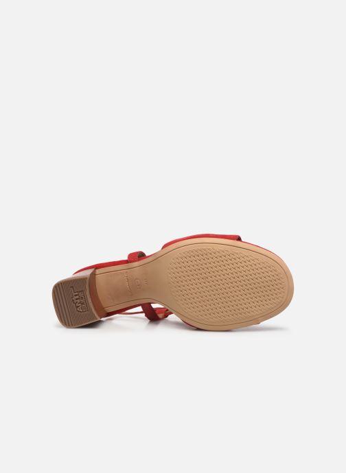 Sandales et nu-pieds Tamaris ZAZA Rouge vue haut