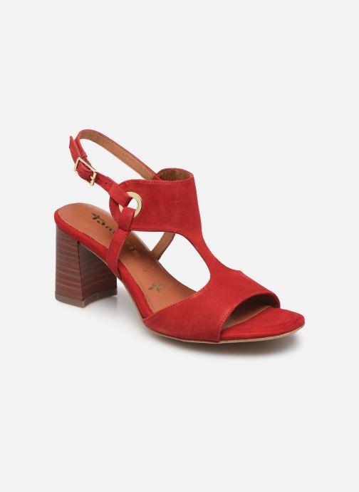 Sandales et nu-pieds Tamaris ZAZA Rouge vue détail/paire