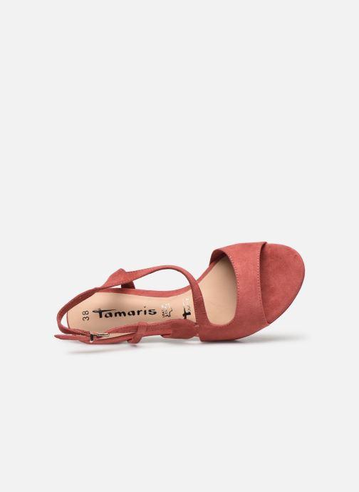 Sandales et nu-pieds Tamaris BATI Rose vue gauche