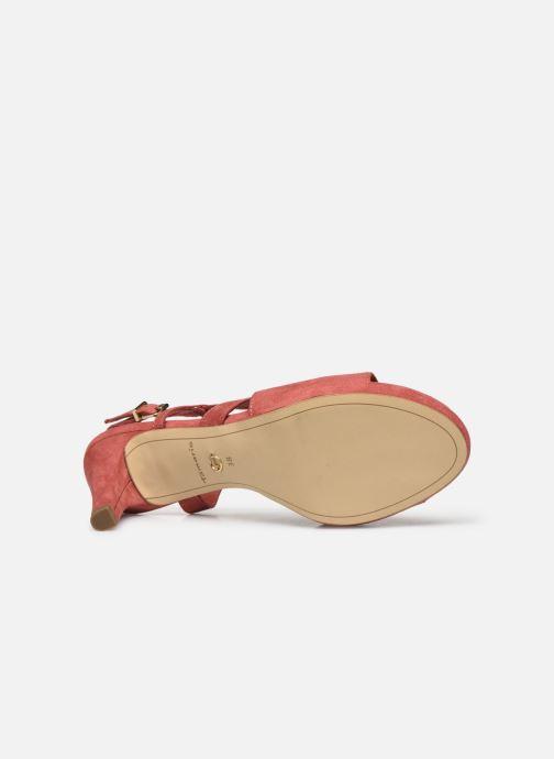 Sandales et nu-pieds Tamaris BATI Rose vue haut