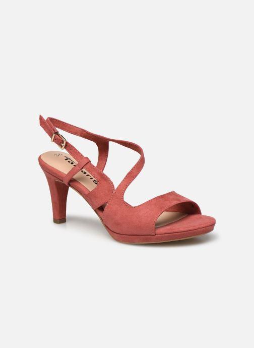 Sandales et nu-pieds Tamaris BATI Rose vue détail/paire