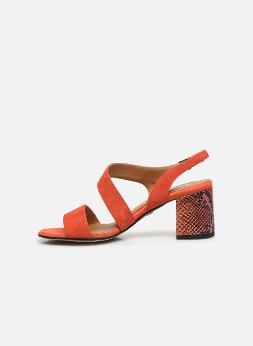 Sandalen Tamaris OOXI orange ansicht von vorne