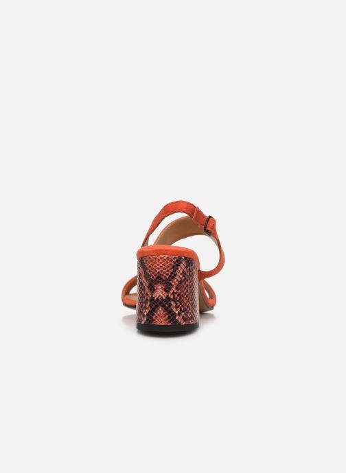 Sandales et nu-pieds Tamaris OOXI Orange vue droite
