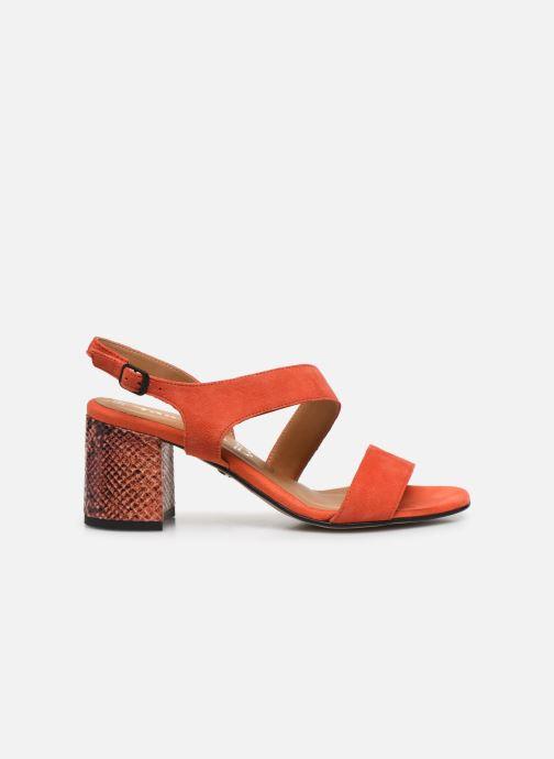 Sandales et nu-pieds Tamaris OOXI Orange vue derrière