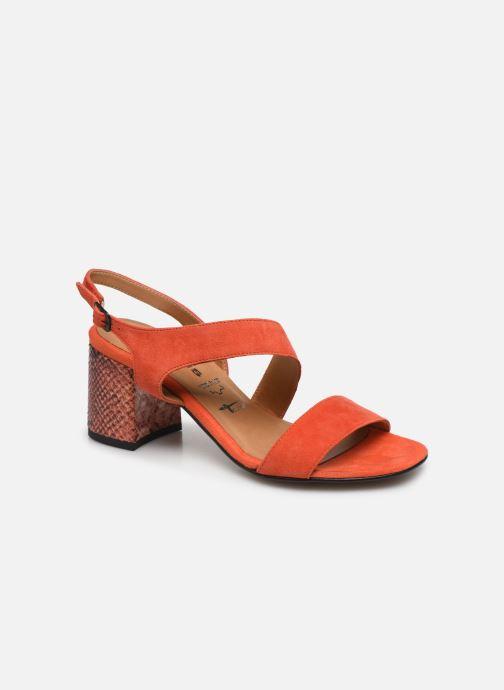 Sandales et nu-pieds Tamaris OOXI Orange vue détail/paire